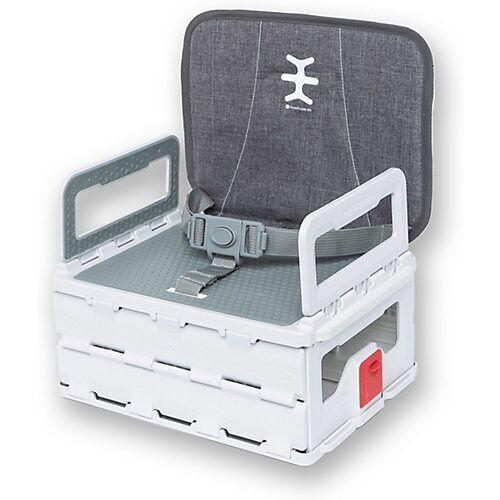 NIKIDOM Mobiler faltbarer Booster SitzKindersitz als Sitzerhöhung weiß