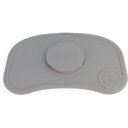 Twistshake Click Mat Mini Pastel Grey grau