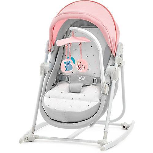 Kinderkraft Wippe Unimo, 5in1, rosa