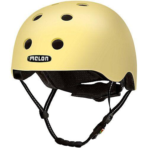Melon® Fahrradhelm Milan beige/gelb