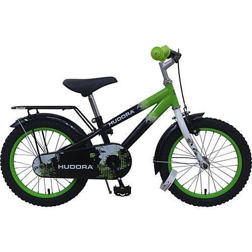 HUDORA Kinderfahrrad RS-15 2.0, 16 Zoll grün