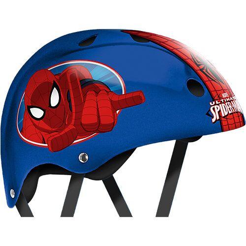 Stamp Spider-Man Skaterhelm, Gr. 54-60 cm blau/rot
