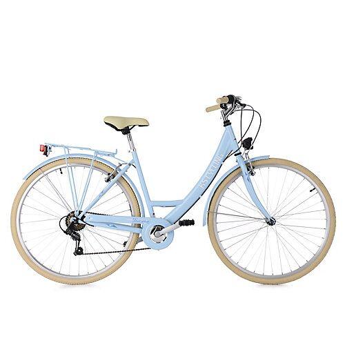 KS Cycling Damenfahrrad Cityrad 6-Gänge Toskana 28 Zoll Cityräder, Rahmenhöhe: blau