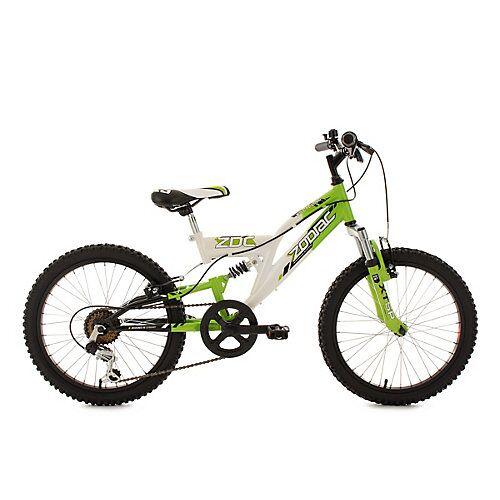 KS Cycling Kinderfahrrad 20'' Zodiac RH 31 cm Fahrräder, Rahmenhöhe: 31 cm weiß