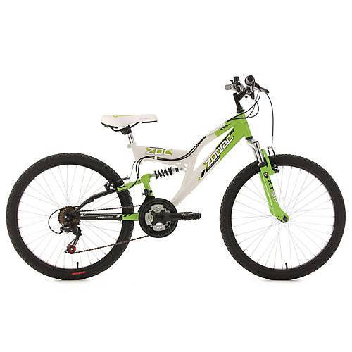 KS Cycling Kinderfahrrad 24'' Zodiac RH 38 cm Fahrräder, Rahmenhöhe: 38 cm weiß