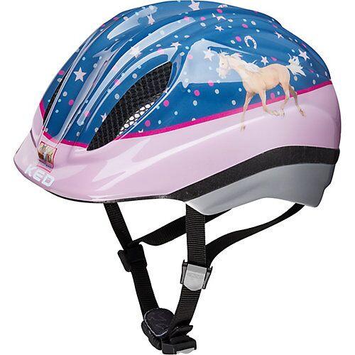 KED Helmsysteme Pferdefreunde Fahrradhelm Meggy Originals rosa/blau