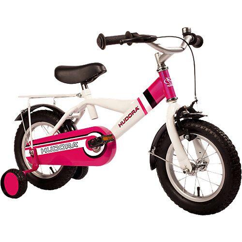 HUDORA Kinderfahrrad RS-4 2.0, 12 Zoll pink