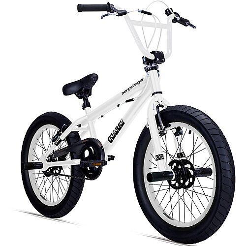 Bergsteiger Fahrrad Jugendfahrrad BMX Tokyo 20 Zoll, weiß