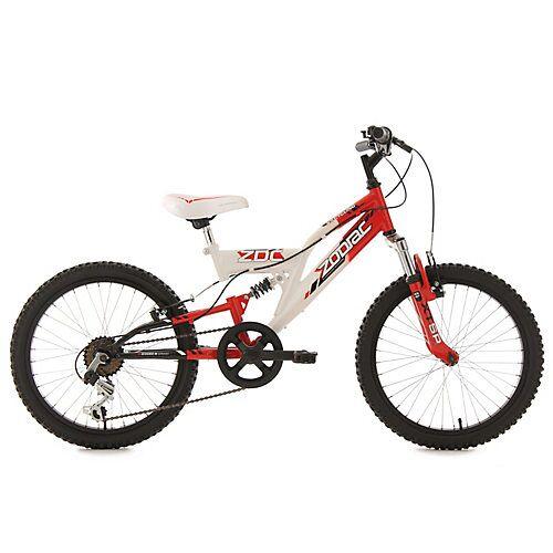 KS Cycling Kinderfahrrad 20'' Zodiac RH 31 cm Fahrräder weiß