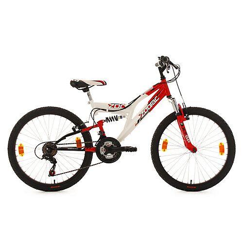 KS Cycling Kinderfahrrad 24'' Zodiac RH 38 cm Fahrräder weiß