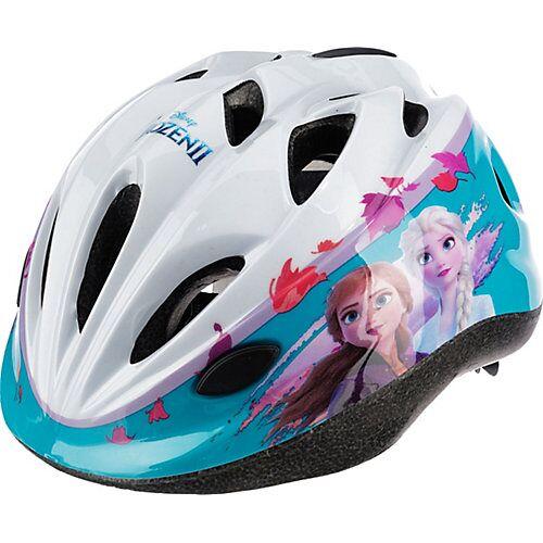 Disney Die Eiskönigin Fahrradhelm Frozen, 52-56 cm weiß