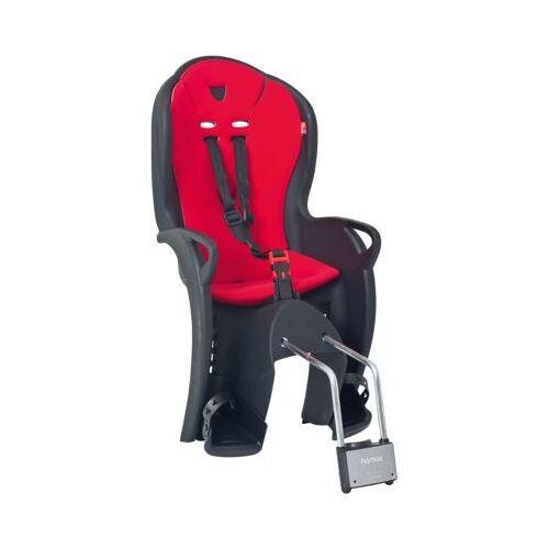 Hamax Fahrradsitz KISS schwarz/rot