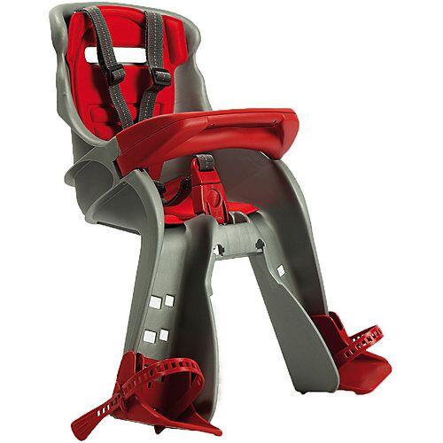 OK Baby Fahrrad-Sicherheitssitz Orion, front, silbergrau/rot