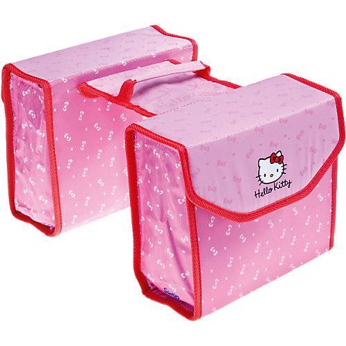 Bike Fashion Hello Kitty Doppelpacktasche rosa