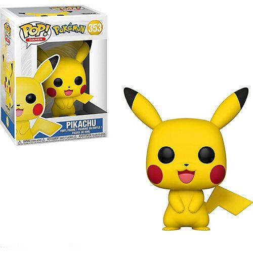 Funko Pop Games - Pokémon S1 - Pikachu, 9,5 cm