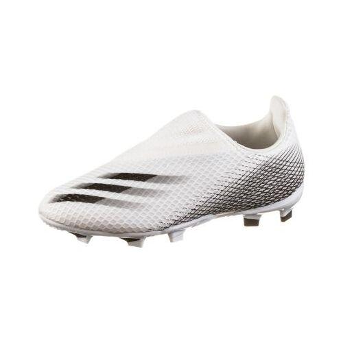 adidas Fußballschuhe X GHOSTED.3 FG J Fußballschuhe Kinder weiß  Kinder