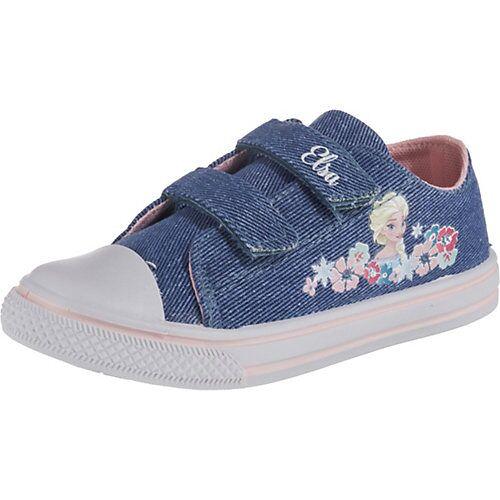 Disney Dieeiskoenigin Disney Die Eiskönigin Sneakers Low  blau Mädchen Kinder