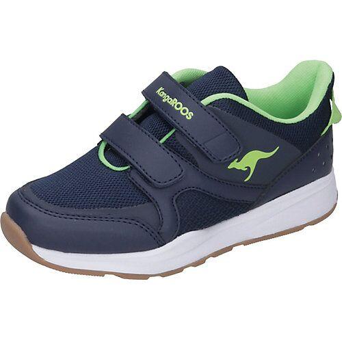 KangaROOS Sportschuhe Courty V blau/grün