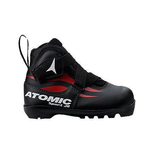 Atomic Langlauf Skischuh Sport Jr. schwarz