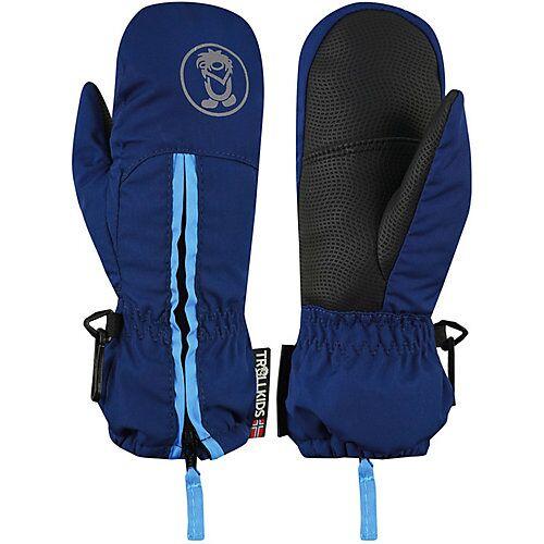 TROLLKIDS Handschuhe Kids Troll Mitten dunkelblau