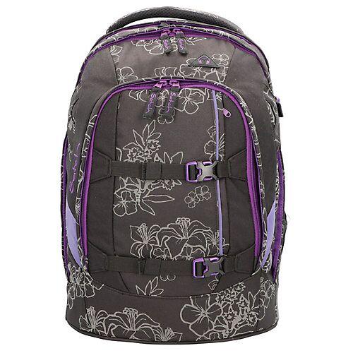 Satch pack Schulrucksack 45 cm Laptopfach Schulrucksäcke schwarz