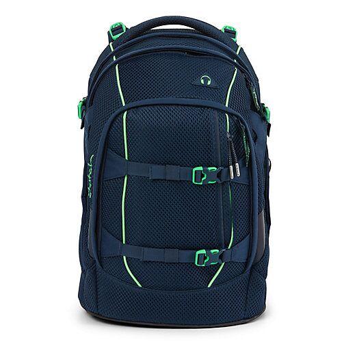 Satch pack Schulrucksack 45 cm Laptopfach Schulrucksäcke blau