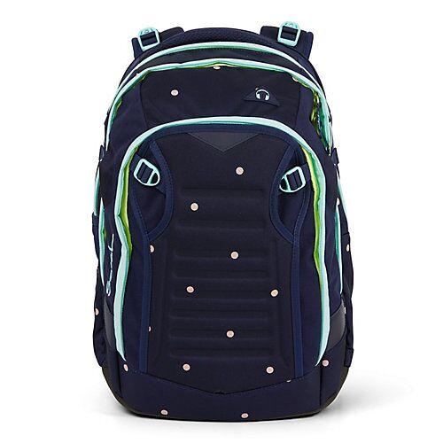 Satch match Schulrucksack 45 cm Laptopfach Schulrucksäcke blau