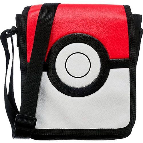 Pokemon Umhängetasche Pokémon Pokeball rot/weiß
