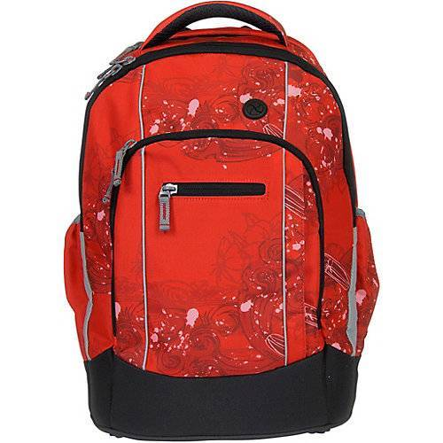 SYDERF Schulrucksack Naps Pacific Red rot