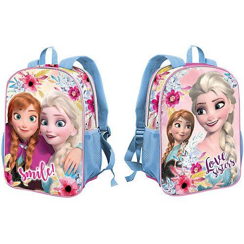 Disney Dieeiskoenigin Kinderrucksack 2in1 Die Eiskönigin pink
