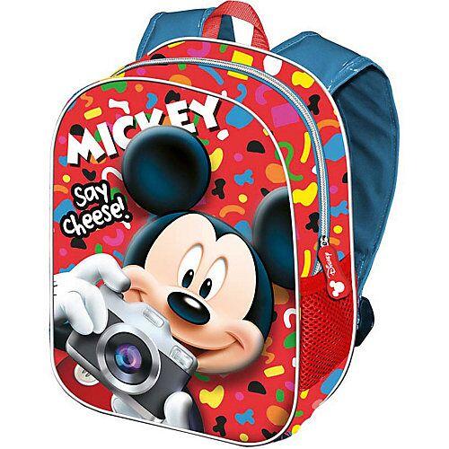 Disney Mickey Mouse & friends Kinderrucksack 3D Mickey rot