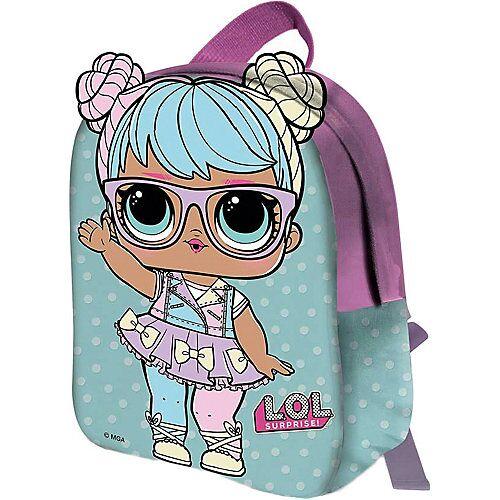 L.O.L. Kinderrucksack 2D L.O.L. BON BON blau