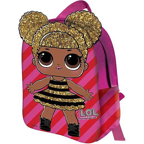 L.O.L. Kinderrucksack 2D L.O.L. QUEEN BEE pink