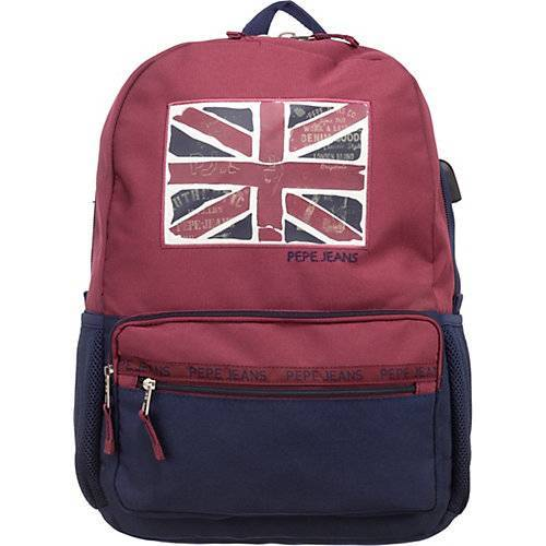 Pepe Jeans Kinder Rucksack ANDY rot