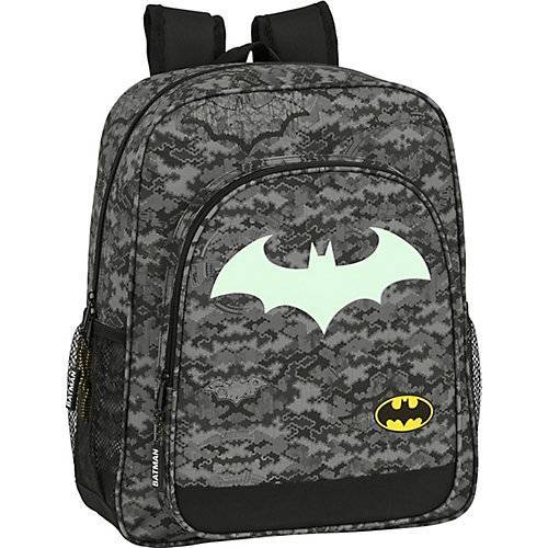 safta Freizeitrucksack Glow in the Dark Batman Night schwarz
