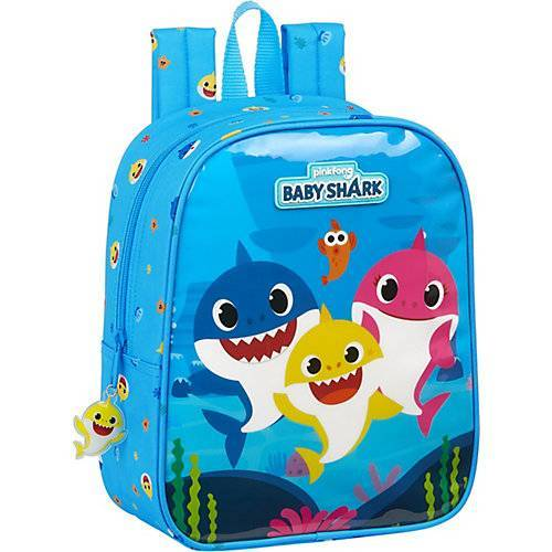 safta Kinderrucksack Baby Shark blau