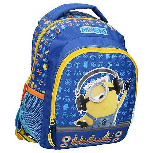 Rucksack Minions Check It Out Kindergartenrucksäcke blau