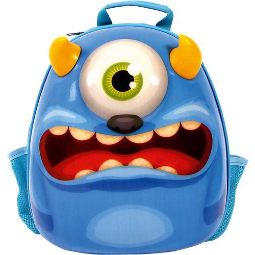 CHIC 2000 3D-Rucksack Monster blau