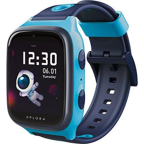 Xplora 4 - Smartwatch für Kinder - sim free, blau Jungen Kinder