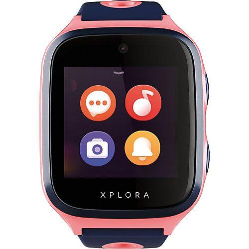 Xplora 4 - Smartwatch für Kinder - sim free, pink Mädchen Kinder