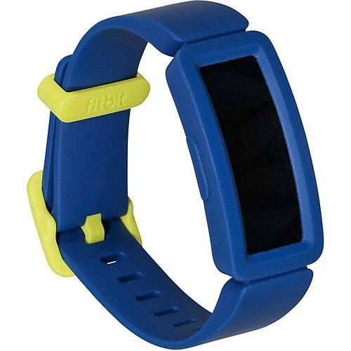 Fitnesstracker Fitbit Ace 2 Night Sky+Neon gelb blau/gelb Jungen Kinder