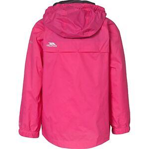 TRESPASS Outdoorjacke QIKPAC, packbar  pink Mädchen Kleinkinder