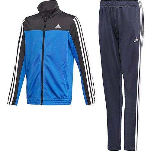 adidas Performance Trainingsanzug OSR YB 3S TS  (recycelt) blau Jungen Kinder
