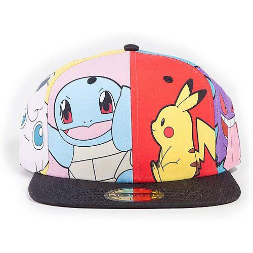 Pokemon Cap Pokemon Multi Pop Art