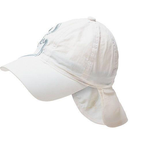 iQ Baby UV-Schutz Cap mit Nackenschutz weiß