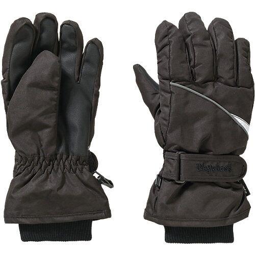 Playshoes Kinder Handschuhe schwarz