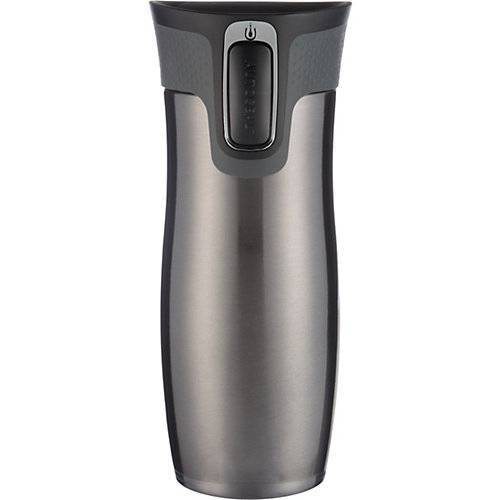 contigo Thermobecher WEST LOOP Gunmetal, 470 ml grau-kombi