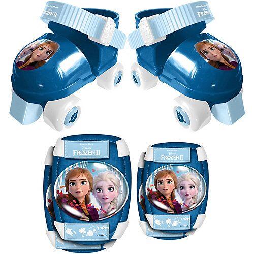 Stamp Rollschuhe Frozen Die Eiskönigin, inkl. Protektoren blau