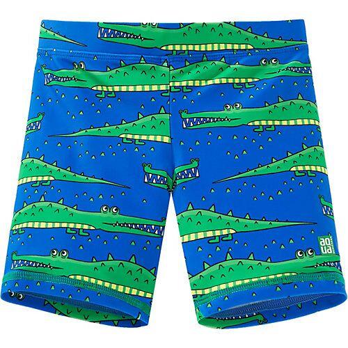 SCHIESSER Badeshorts mit UV-Schutz 40+  blau Jungen Kleinkinder
