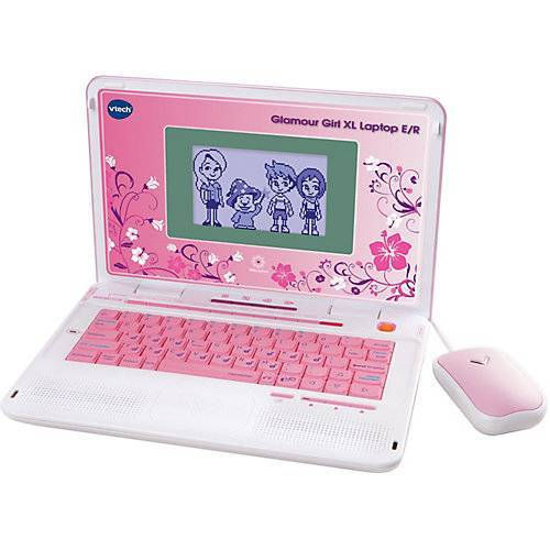 Vtech Power XL-Laptop Glamour Girl, pink